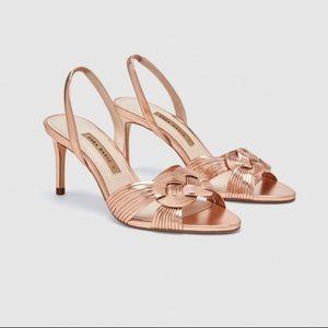 ZARA Braided Sandals